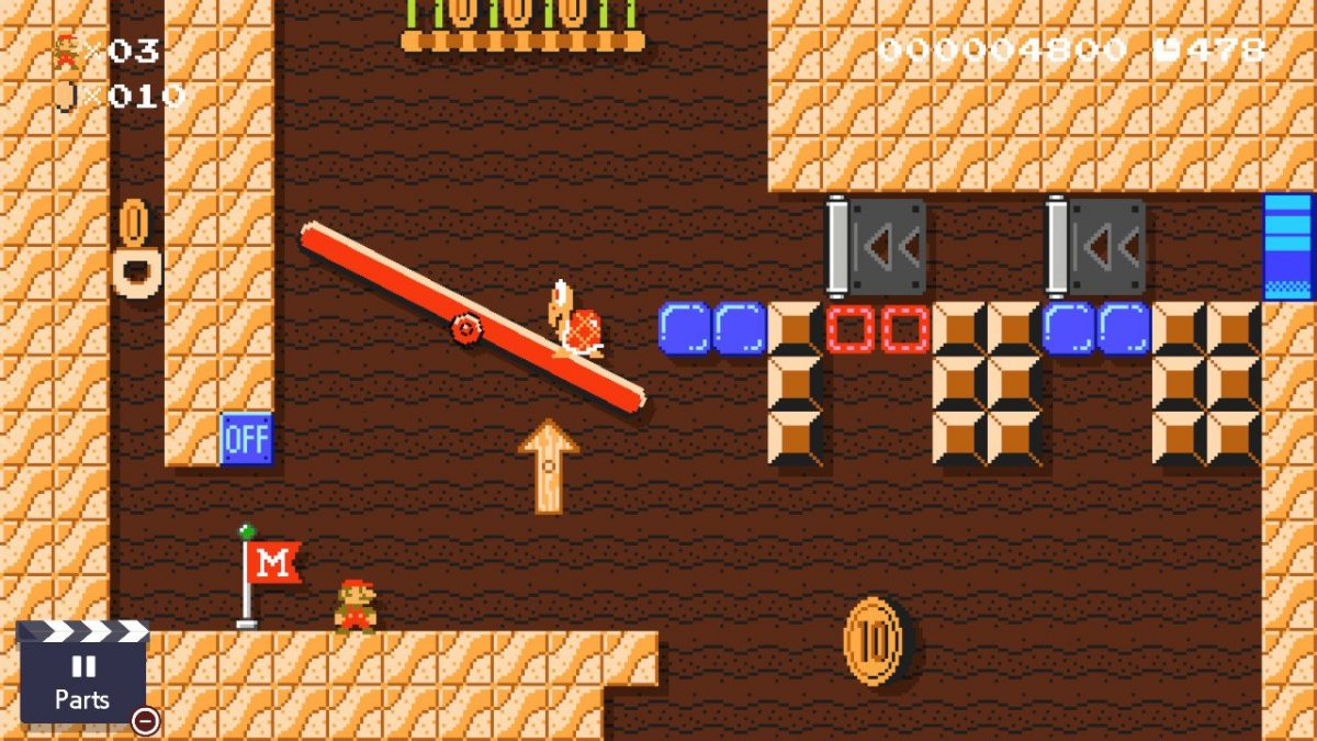 How to Solve Ancient Seesaw Fortress (Super Mario Maker 2