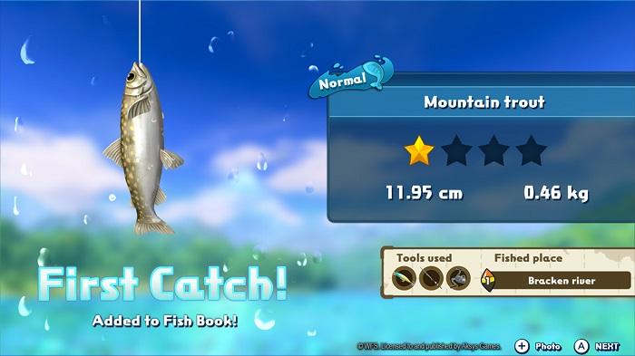 Fishing Star World Tour | First Fish
