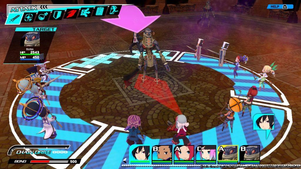 Conception PLUS | Combat gameplay