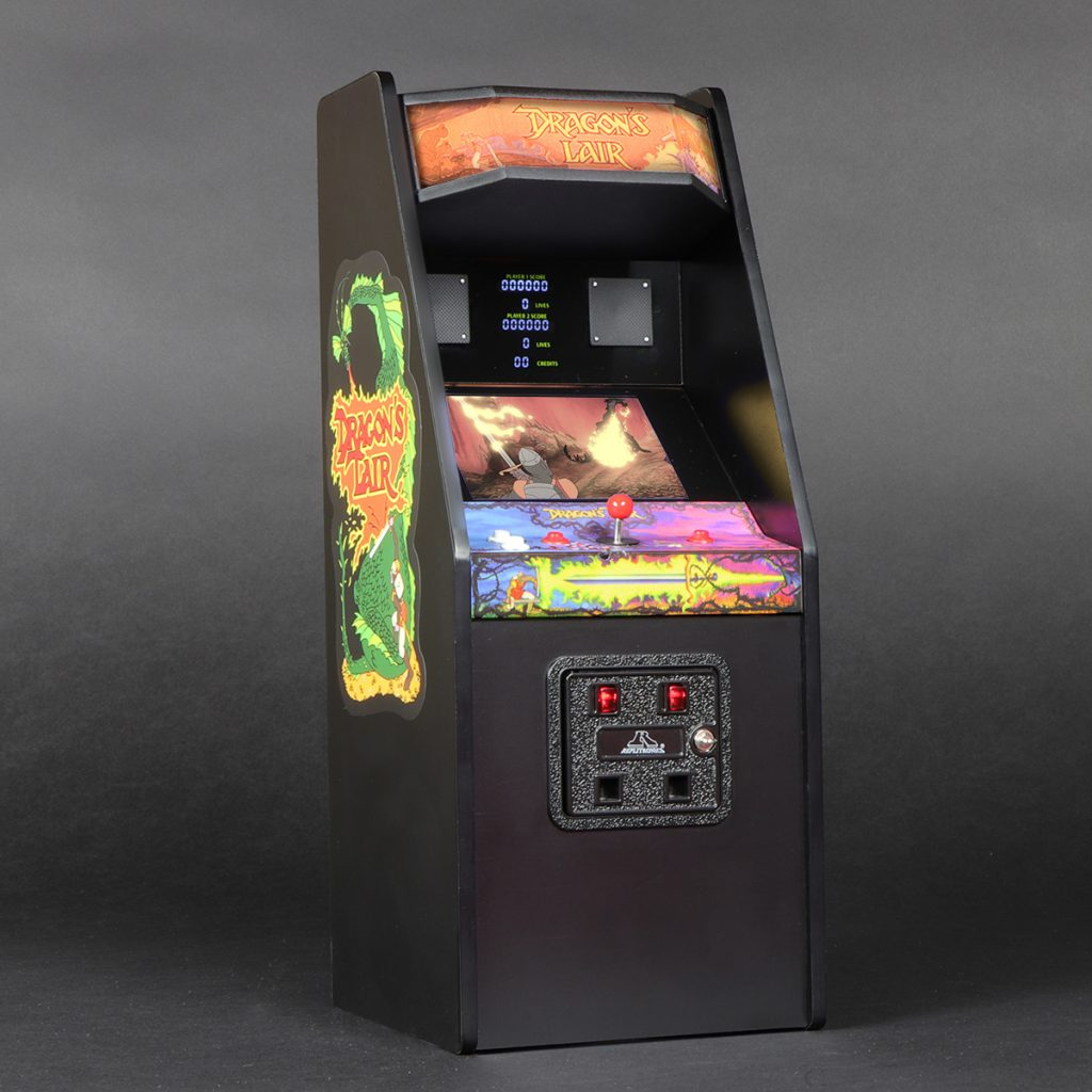 Dragon's Lair X RepliCade | Cabinet view