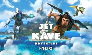 Jet Kave Adventure | Title screen
