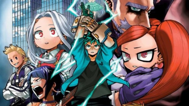 my hero academia volume 20 review