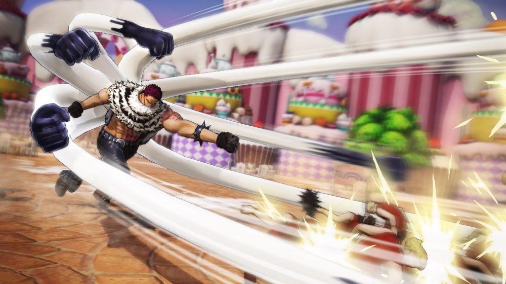 One Piece: Pirate Warriors 4 | Charlotte Katakuri fighting