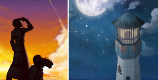 to the moon anime