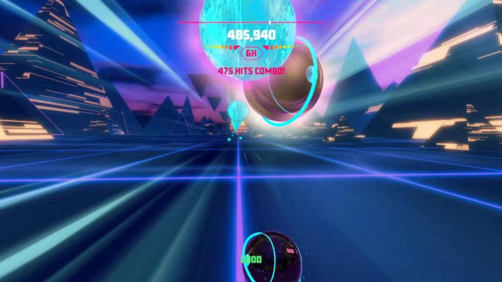Picture of Synth Riders Gameplay