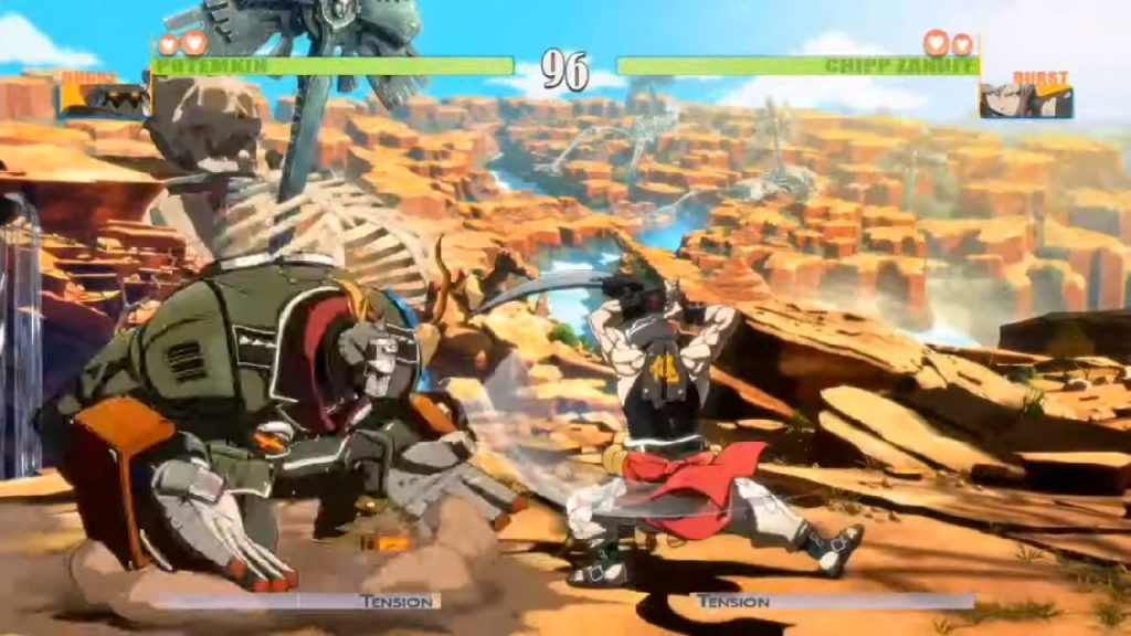 Guilty Gear 2020 | Potemkin vs. Chipp