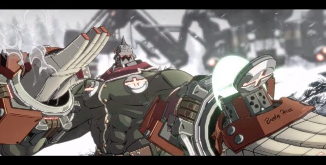 Guilty Gear 2020 | Potemkin closeup