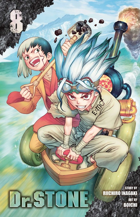 dr. stone volume 8 review
