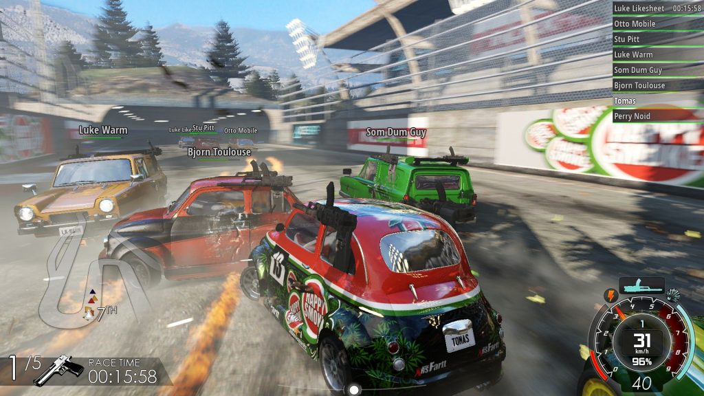 Gas Guzzlers Extreme review ps4