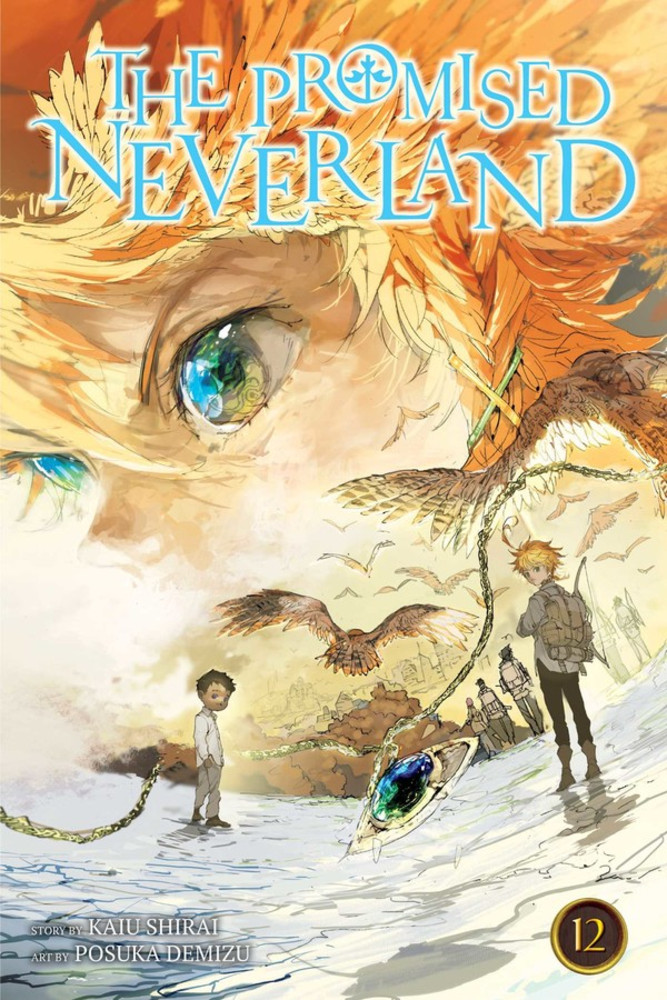 the promised neverland volume 12 review