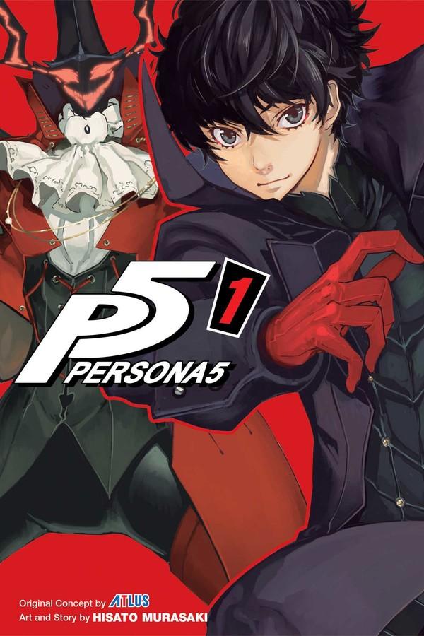 persona 5 manga review