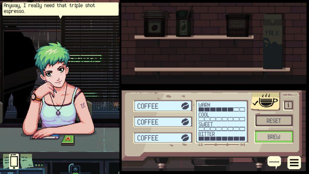 Coffee Talk Drinks List