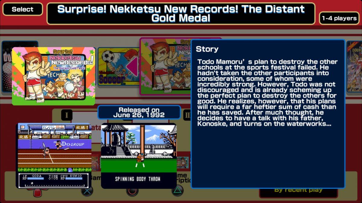 Double Dragon Kunio Kun Retro Brawler Bundle Review Ps4