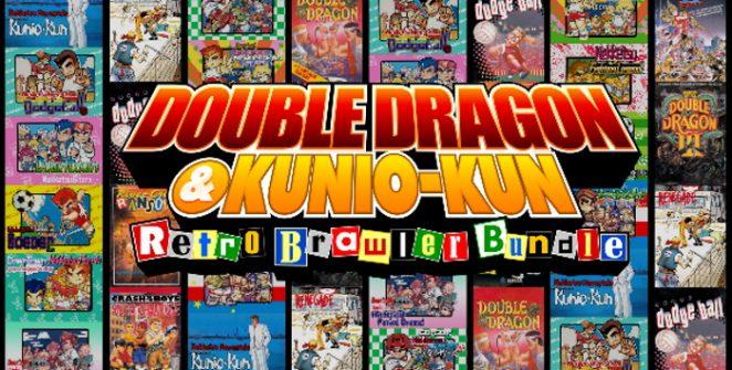 DOUBLE DRAGON & Kunio-kun Retro Brawler Bundle title