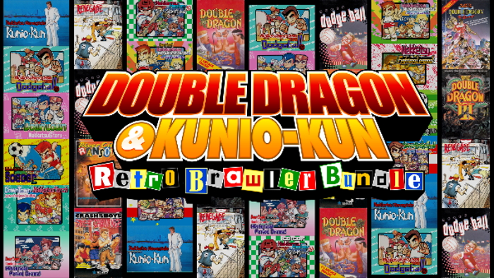 DOUBLE DRAGON & Kunio-kun Retro Brawler Bundle title