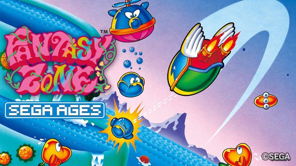 SEGA AGES Fantasy Zone Banner