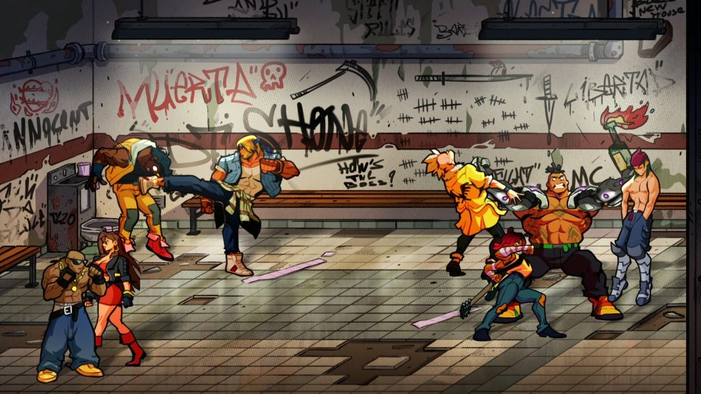 Streets of Rage 4 co-op