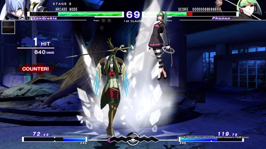 Under Night In-Birth Exe:Late[cl-r] | Londrekia ice