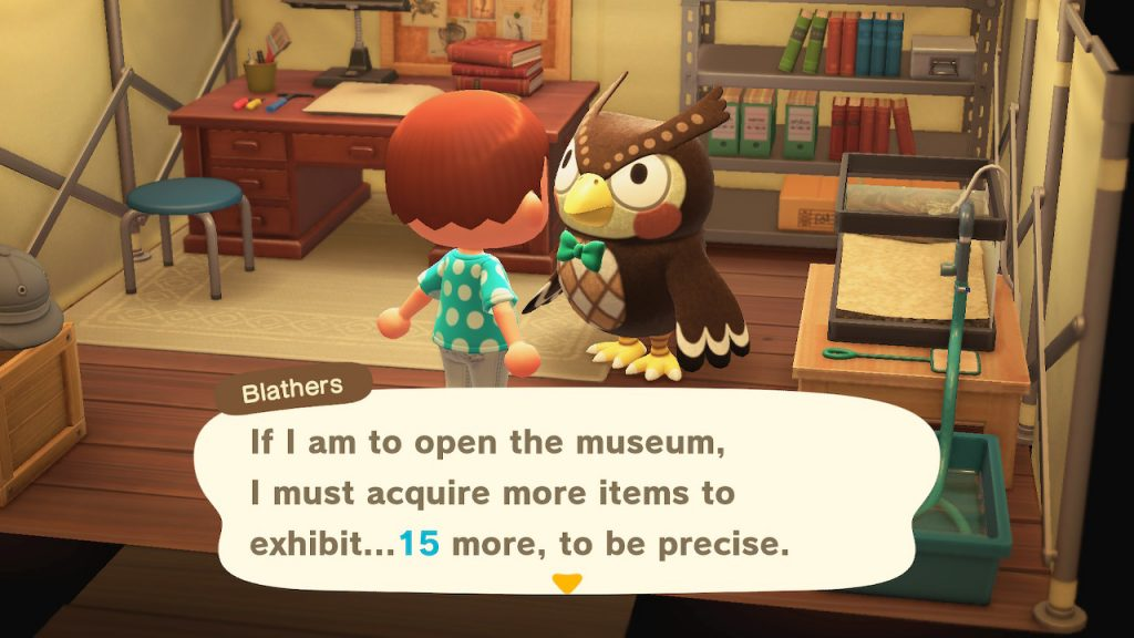 animal crossing new horizons museum guide