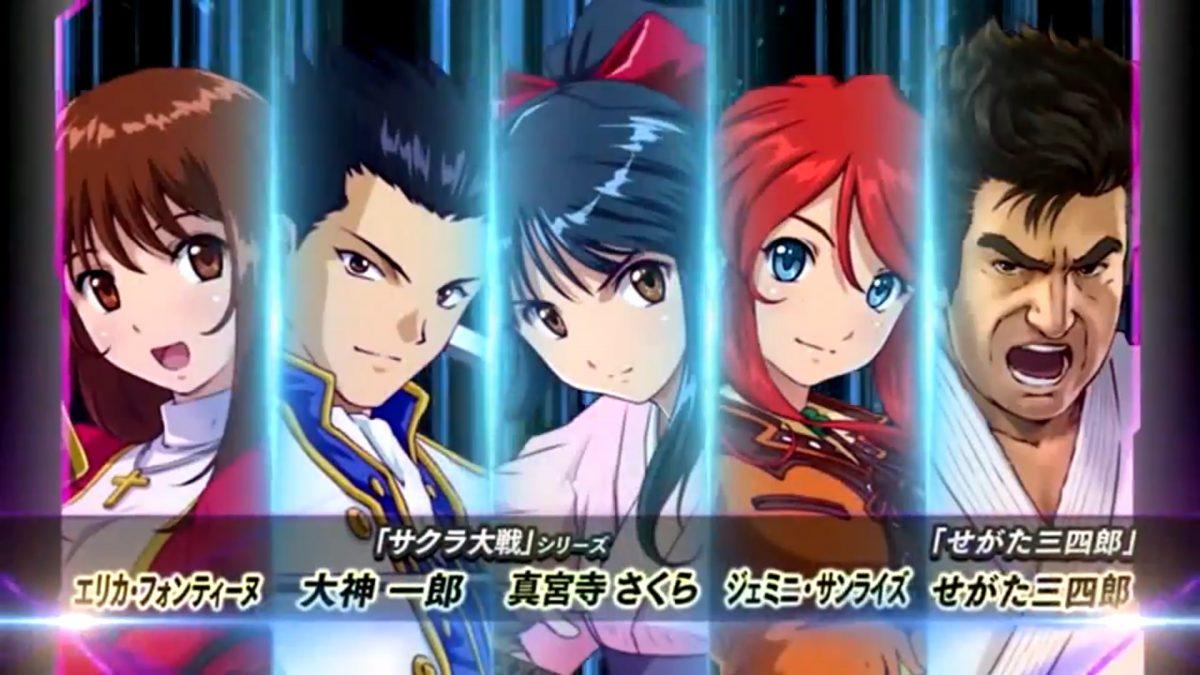 Sakura Wars | Project X Zone 2 Cast