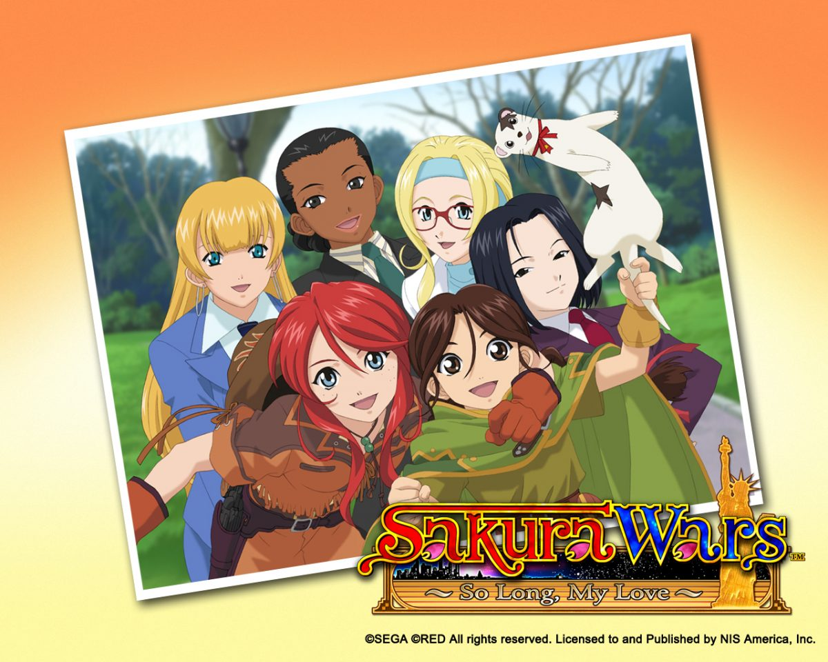 Sakura Wars | So Long, My Love Cast