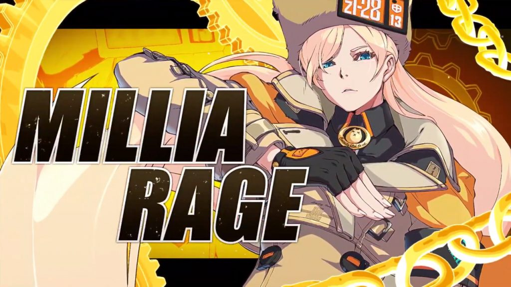 Guilty Gear -Strive- Millia Rage