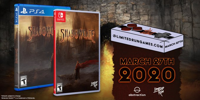 Pre - Orders For The Shadowgate Remake Physical Edition Open This Week