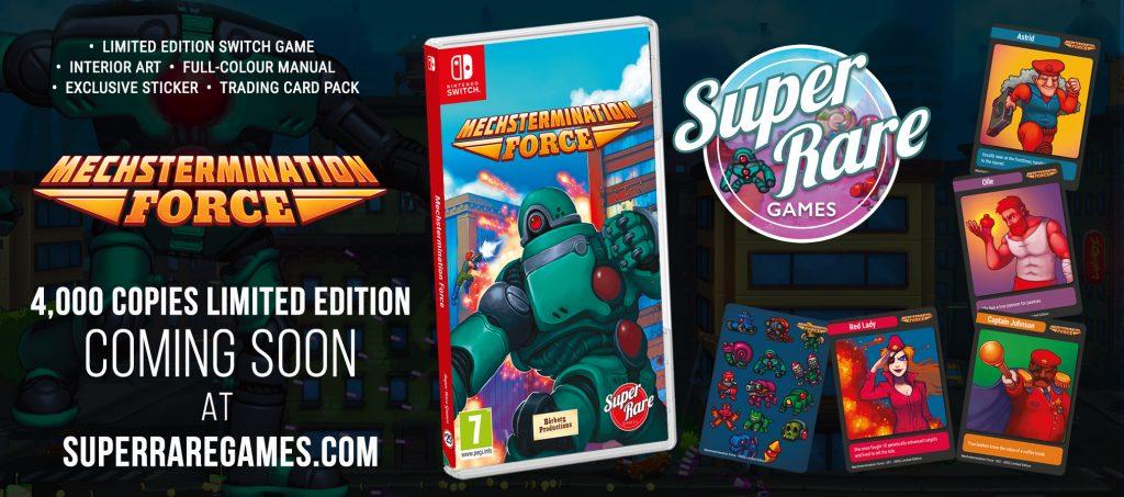 Mechstermination Force Super Rare Games
