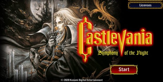 Casgtlevania: Symphony of the Night Mobile