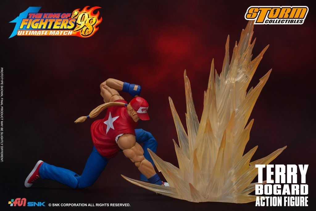 King of Fighters '98 UM Terry Bogard Figure
