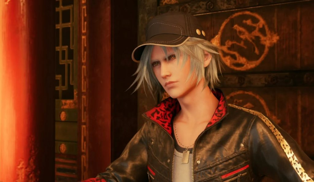 Leslie Kyle, who secretly works for Andrea Rhodea a strong LGBTQ character, in the Final Fantasy VII Remake.