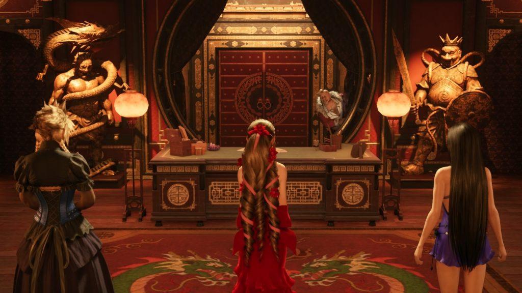 Don Corneo picks his bride here in our final fantasy 7 remake dress guide