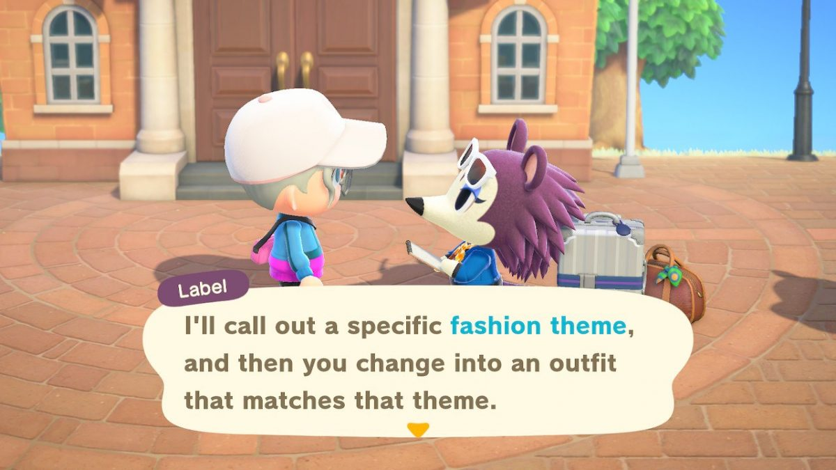 How To Complete Label S Fashion Challenges In Animal Crossing New Horizons Hey Poor Player