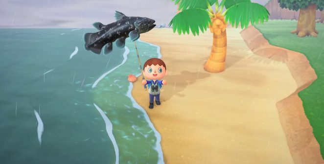 coelacanth animal crossing: new horizons