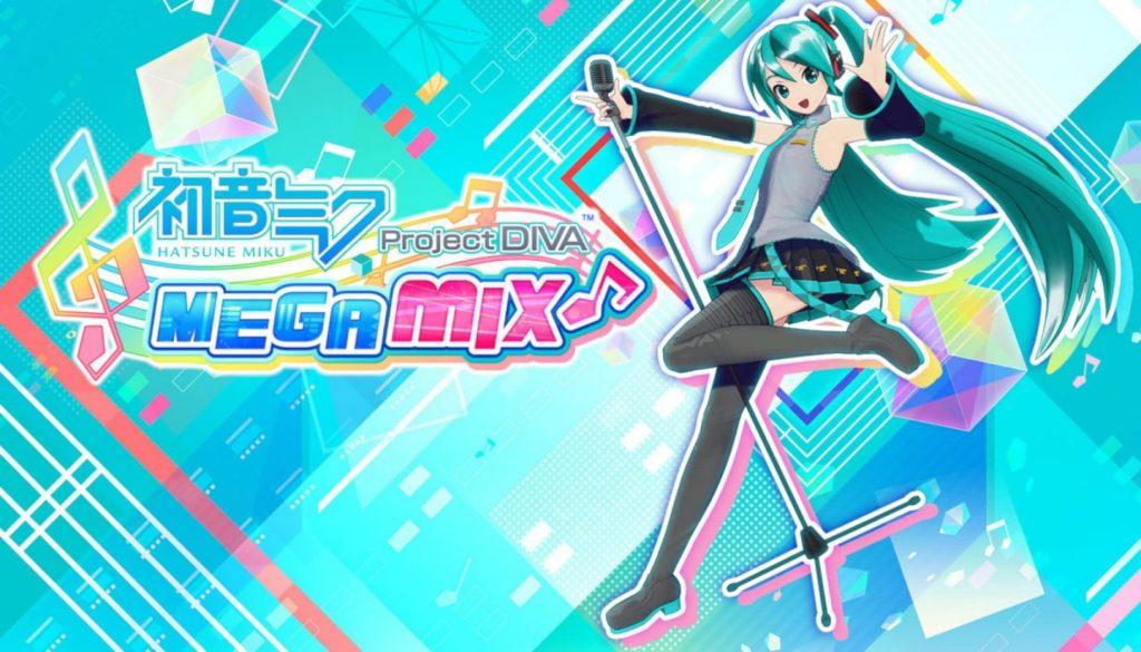 Hatsune Miku Project DIVA Mega Mix Banner