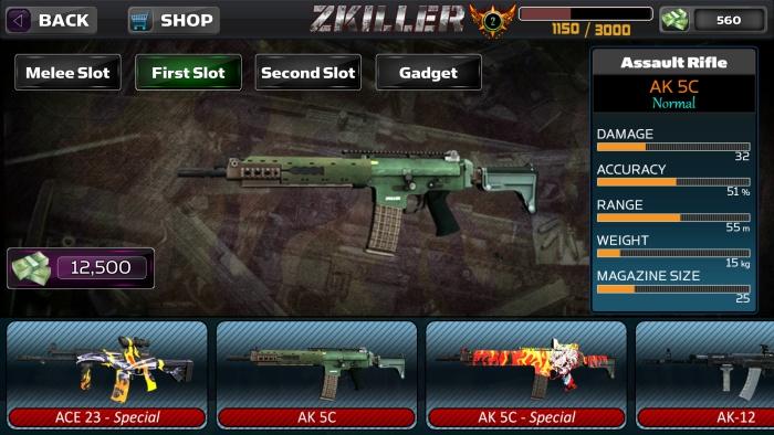 ZKILLER screen 2
