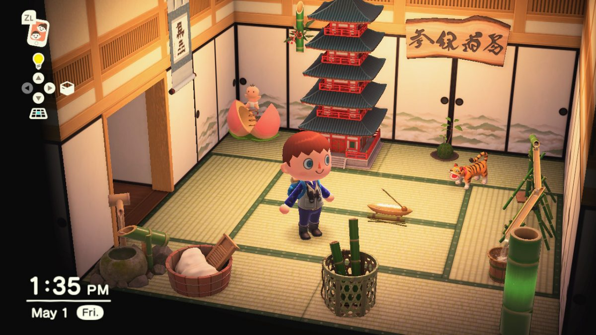 Animal Crossing Japanese Style Furniture Set Animation Art Characters Fundetfunval Collectibles