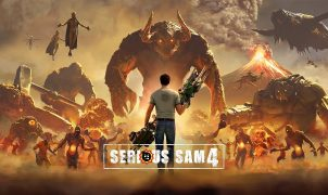 Serious Sam 4 banner art