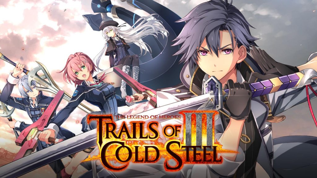 The legend of Heroes: Trails of Cold Steel III Banner