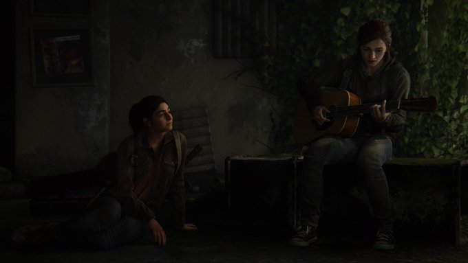 Ellie Serenade's Dina in The Last of Us Part II