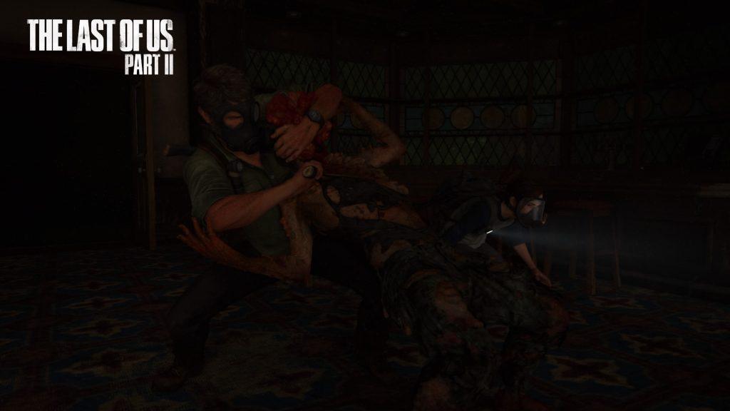 Joel murders a Clicker