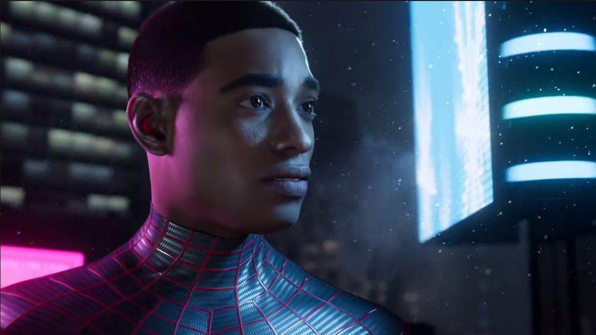 Miles Morales in Spider-Man: Miles Morales