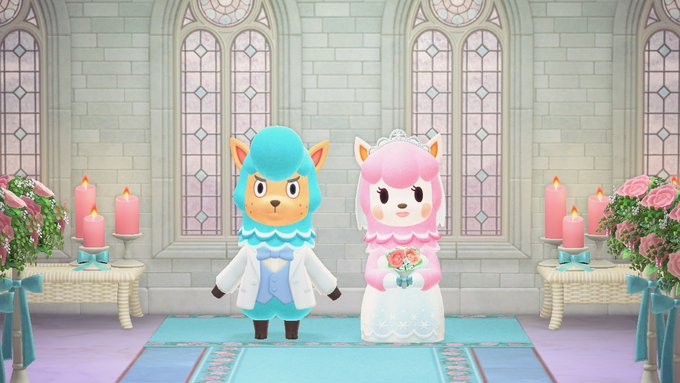 animal crossing: new horizons wedding event