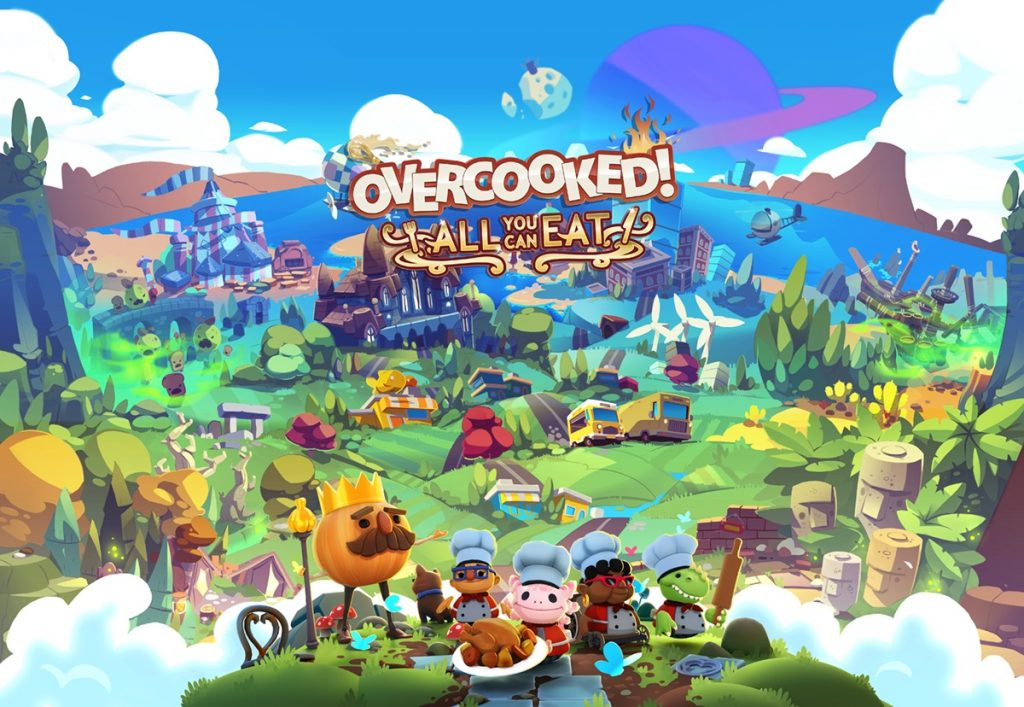 Overcooked! All You Can Eat Banner