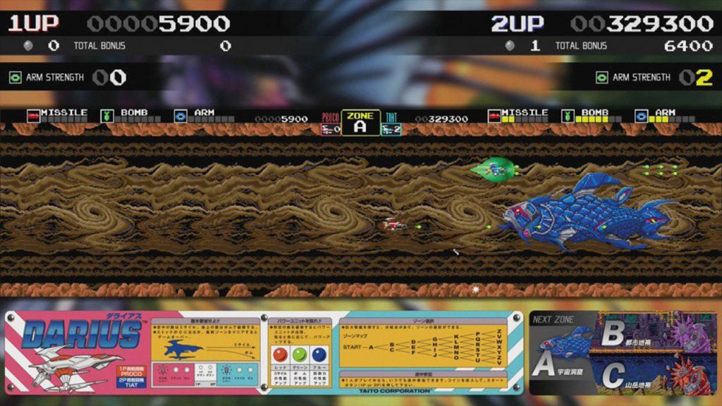 Darius Cozmic Collection Arcade Review