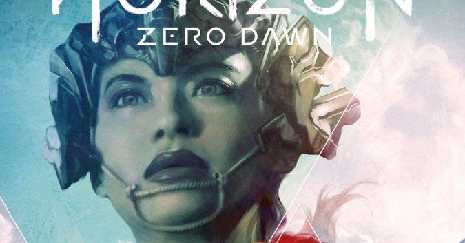 Talanah on the Horizon Zero Dawn Comic Cover