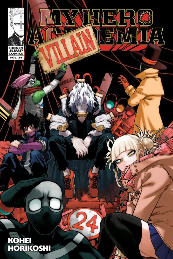my hero academia volume 24 review