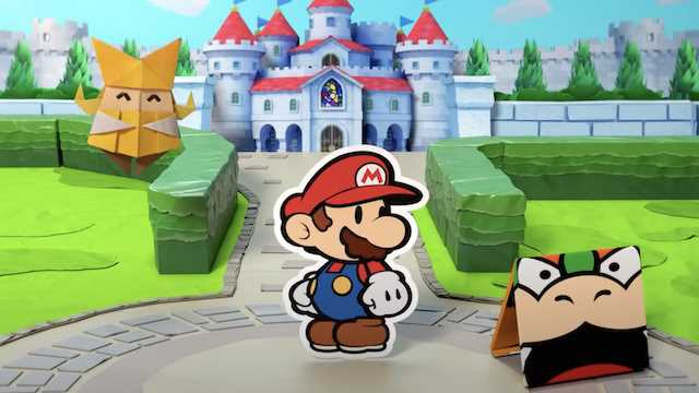 paper mario origami king interview