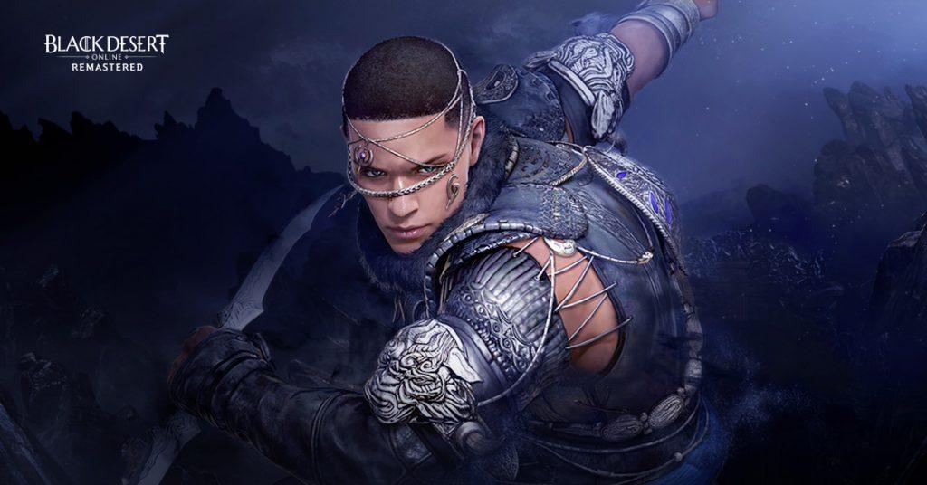 Black Desert Online's Hashashin character holding a sword.