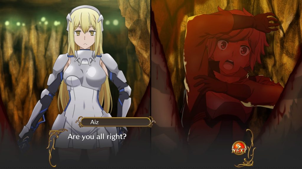 Is It Wrong to Try to Pick Up Girls in a Dungeon? Familia Myth Infinite Combate 1